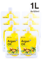 100% ORGANIC MOROCCAN ARGAN OIL 1.0L -  NO ADDITIVES ***FREE SHIPPING***