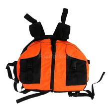 Kayaking Boating Rafting Sailing Buoyancy Aid Life Jackets Vest Blue/Orange