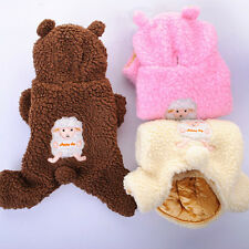 Dog Clothes Puppy Clothes Warm Padded Jacket Pet Apparel Small Middle Large