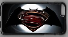 Superman Batman Hero Emblem design cell case iPhone iPod Samsung
