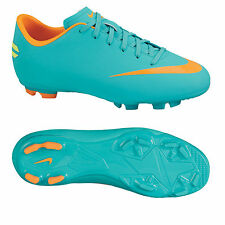 NIKE MERCURIAL VICTORY III FG JUNIOR FIRM GROUND SOCCER SHOES Retro/Orange