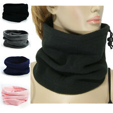 Mens Womens Warmer Face Mask Sports Winter Thermal Fleece Scarfs Beanie Hats