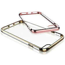 New Luxury Finest Quality Electroplating Soft TPU Case Cover For Apple Iphone