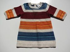 OLD NAVY GIRLS KNIT  DRESS  MULTI-COLOR  SIZES  0-3 MONTHS AND 6-12 MONTHS
