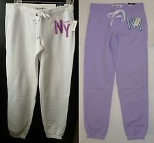Womens AEROPOSTALE Aero NY Heritage Cinch Sweat Pants Sweatpants NWT #5445
