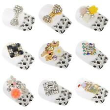 10pcs 3D Rhinestone Nail Art Glitters Sticker Tips Manicure DIY Phone Decoration