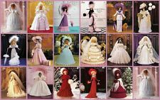 Paradise Crochet Collector Costume Fashion Doll Historical Fits Barbie UPICK