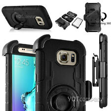 Shockproof Rugged Rubber Hybrid Hard Clip Case Cover For iPhone Samsung LG Phone