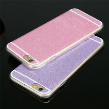 Luxury Bling Glitter Spakle Hard Plastic Back Case Cover For iPhone 5/6s/6 Plus