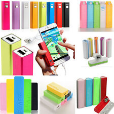 Portable USB External Backup Battery Charger Power Bank case For Cell Phone