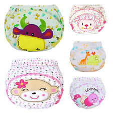 Baby Cotton Training Pants Reusable Cloth Infant Nappies Diaper Affordable