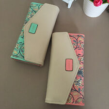 Lovely Design Small Floral Long Wallet Change Purse Ladies Casual Clutch Bags VV
