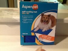 Aspen Pet  Cooling Mat For Pets, 20 By 16-inch, Strong Blue