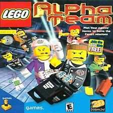 Lego Alpha Team (PC CD-ROM) Alpha Team Focuses On Strategy And Team Work!