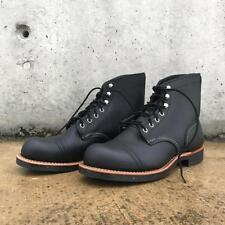New Red Wing 8114 Iron Ranger Black