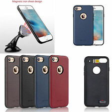 G-Case Ostrich Grain Magnetic Leather Back Case Cover Skin For iPhone 7/7 Plus