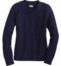 NEW Duluth Trading WOMEN'S DEPEND-A-WOOL LAMBSWOOL CREW NECK SWEATER NWT
