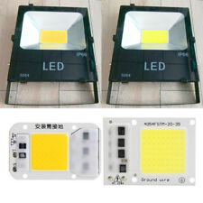Smart IC 30W 50W LED Light Bulb COB Chip Beads Plate Floodlight SMD Lamp AC 220V