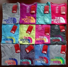 North Face Women's Short Sleeve Half Dome V-Neck T Shirt NWT New Fit