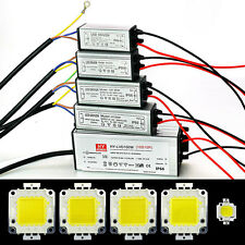 10W/20W/30W/50W/100W LED Driver Supply LED SMD Chip Light lamp Bulb+Power