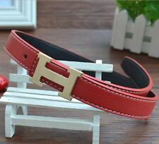 Kid New Casual Fashion Children Faux Leather Adjustable Belts For Boys/Girls Red