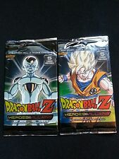 Dragon Ball Z TCG CCG Panini Heroes and Villains, 2 Sealed 5 Card Booster Packs