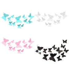 12 Pcs 3D PVC Butterflies DIY Butterfly Art Decal Home Decor Wall Mural Stickers