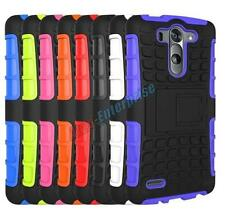 Armour Heavy Duty Tough Shock Proof Hard Stand Case Cover For Motorola Moto G2