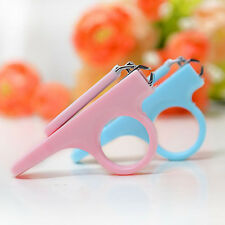 New Practical Hi-Q Baby Kids Safety Manicure Set Finger Toe Nail Clipper Scissor