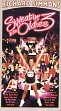 Brand New Factoy Sealed! Richard Simmons ~ Sweatin' to the Oldies 3  VHS Vintage