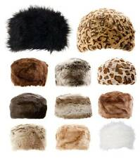 Ladies Cossack Hats Faux Fur Hats Luxury Premium Winter Russian Hats 20 Colours