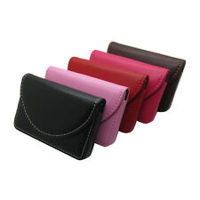 New Pocket PU Leather Business ID Credit Card Holder Case Wallet  VV