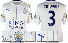 *16/17 -PUMA; LEICESTER CITY 3RD SHIRT SS + PATCHES / CHILWELL 3 =KIDS SIZE*