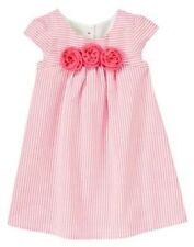NWT Gymboree Seersucker Rosette Dress DRESSY SPRING Collection 6 12 18 24mo 2T