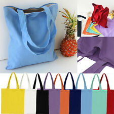 Women Handbag Girls Canvas Shopping Shoulder Tote Shopper Beach Top-handle Bags