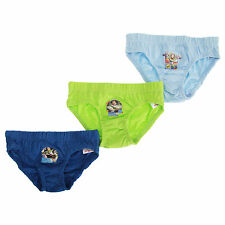 Toy Story Childrens Boys Cotton Briefs (Pack Of 3)
