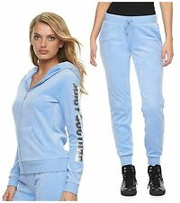 NWT JUICY COUTURE Tracksuit Velour Jacket Jogger Pants Women's size XS S M L