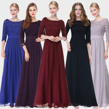 Ever Pretty Women Wedding Ball Gown Prom Lace Maxi Evening Formal Dress 08412