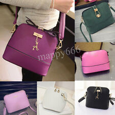 Women Handbag Scrub Shoulder Bag Leather Purse Shell Satchel Messenger Bags Lot