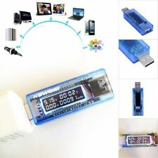 USB Charger Capacity Time Current Voltage Detector Meter Battery Tester New FY