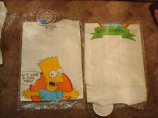 "-L- THE SiMPSONS T-Shirt NWT Bart ""Don't Have a Cow, Man"" Tee vtg 1990"