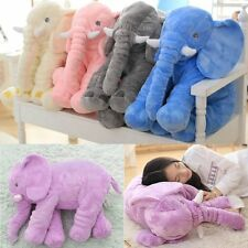 Stuffed Animal Cushion Kids Baby Sleeping Soft Pillow Toy Cute Elephant FY