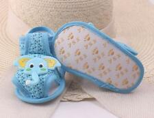 Baby Cartoon Elephant Pattern Soft Sole Shoes Toddler Prewalker Non-slip Sandals