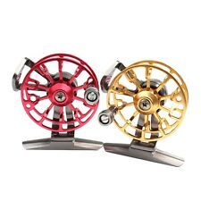 Fly Fishing Reel Aluminum Metal Drag Water Fly Fishing Tackle Reel HE50 FG