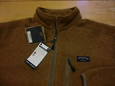 "Bills Khakis ""Climate 4"" ¼-Zip Fleece Pullover, NWT - Mens Large - Mustard Brown"