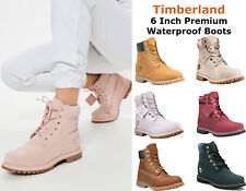 Womens Timberland Premium 6 In Waterproof Boots Timberland Wheat Rust Authentic