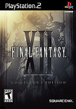 Final Fantasy XII (12): Collector's Edition (PlayStation 2, PS2) Complete