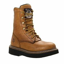 CHILDREN'S YOUTH GEORGIA FULL GRAIN LEATHER LACER BOOTS G213