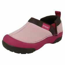 Infant/Junior Girls Crocs Cunning Cameron Kids Casual Flat Slip On Shoes