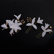 Wedding Bridal Flower Hair Comb Hairpins Hair Accessories Women Jewelry